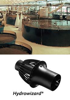 aquacultuur en hydrowizard pomp